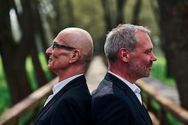Thilo Wolf und Norbert Nagel