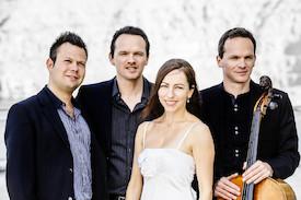 Casal Quartett und Maximilian Hornung