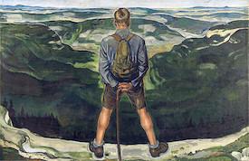 A. Paul Weber - Der Wanderer