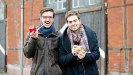 Lukas Diestel und Jonathan Löffelbein