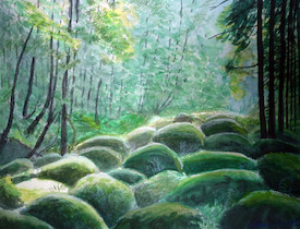 Romantik der Gegenwart - Feuchter Wald