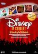 """Musik """"Disney in Concert"""": """"Wonderful Worlds"""", Best-of-Disney-Film mit Live-Orchester u. Solisten Alexander Klaws, Ivy Quainoo, Sabrina Weckerlin, Anton Zetterholm, Mark Seibert u. Elisabeth Hübert"""
