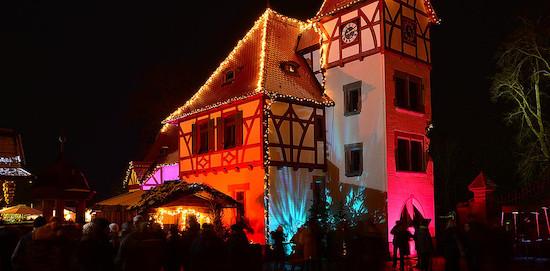Romantischer Weihnachtsmarkt auf Gut Wolfgangshof