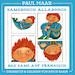 """Kinderprogramm Kinderkulturprogramm: Lesung mit David Saam und Paul Maar: """"Samsdooch Alladooch. Das Sams auf Fränkisch"""", mit Musik"""