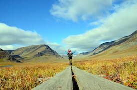 Norwegen zu Fuß